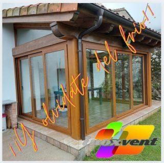 Gran variedad de soluciones para el cierre de tu porche... ¡¡y olvídate del frío!! #inoxventpvcaluminio