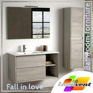 Muebles de baño que enamoran. #inoxventrenuevatubaño